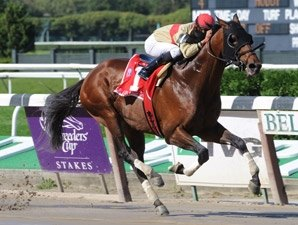 Le Grand Cru Wins Off-The-Turf Kelso Handicap