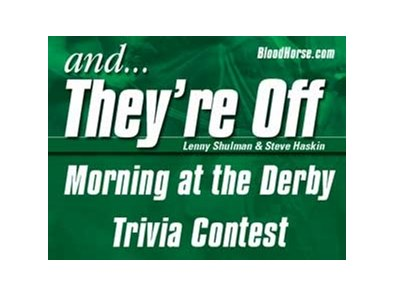 """And They're Off"" Morning at the Derby Contest opens March 11."