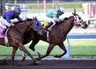 Saint Afleet and Patrick Valenzuela win the Palos Verdes Handicap.