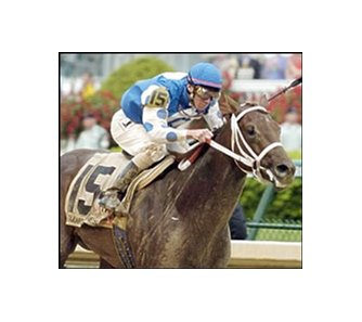 Kentucky Derby winner Smarty Jones will move on to the Preakness.