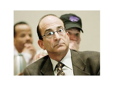 Richard Shapiro, chairman of the California Horse Racing Board