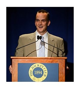 Travis Tygart spoke at The Jockey Club Round Table Conference.