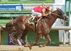 Danthebluegrassman, shown winning the 2002 Northern Dancer, has been retired and is headed to Old Friends.