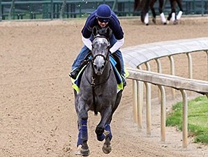 El Kabeir at Churchill Downs 4.30.15.