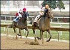 Derby contender Ten Most Wanted, defeating Fund of Funds in the Illinois Derby.
