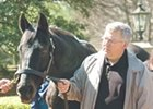Seattle Slew and Tom Wade, earlier this year.