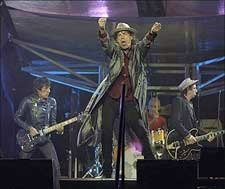 Stones Rock and Roll Beneath Churchill Downs' Twin Spires