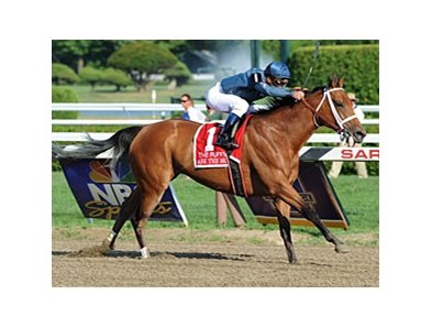 Ask the Moon wins the Ruffian Invitational.