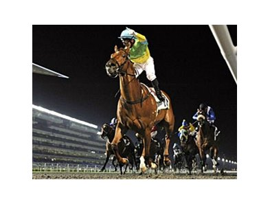 Dynamic Blitz leaves the rest behind in the Al Shindagha Sprint.