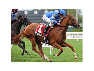 Strike the Bell in the Noble Damsel Stakes.