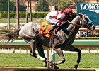 Kentuckian won the Lazaro Barrera Stakes by a 6 1/4 lengths on May 10.