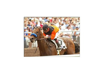 Roman Ruler wins the Best Pal Stakes, Sunday at Del Mar.