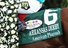American Pharoah won the 2015 Arkansas Derby