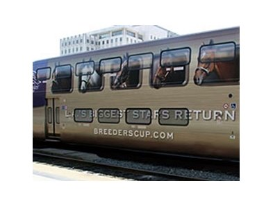 Breeders' Cup Metrolink Train Car