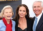 Penny Chenery, Diane Lane, and Gov. Beshear at the Secretariat screening.