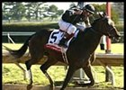 Take Charge Lady rolled to victory in the Ashland Stakes.