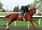 Endorsement worked 5 furlongs in 1:01.60 on April 17 at Keeneland.