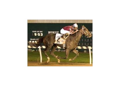 Zanjero turns in a dominating Indiana Derby performance