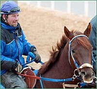 Smarty Jones Sizzles 5 Furlongs for Arkansas Derby; Zito Colts Work