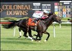 Summer Doldrums took the Colonial Turf Cup earlier this summer