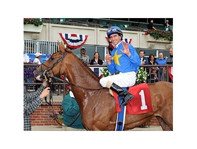 2011 for Ramon Dominquez in New York included 6 wins on June 5 at Belmont Park.