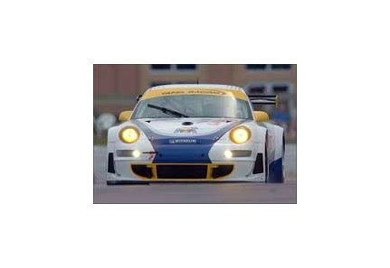 Jim Tafel (whose father James has Juvenile champion Street Sense going in Saturday's Toyota Blue Grass Stakes at Keeneland) takes to the track an hour later in his No. 73 Porsche 911 GT3 RSR in the Toyota Grand Prix of Long Beach.