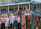 "123,763 people saw Lovely Maria take the lilies.<br><a target=""blank"" href=""http://photos.bloodhorse.com/AtTheRaces-1/At-the-Races-2015/i-MKp3h94"">Order This Photo</a>"