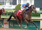 Ashado shown winning the Kentucky Oaks last year.
