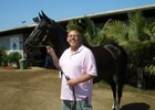 Vic Stauffer with Zenyatta