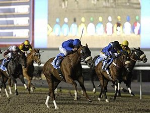 Midshipman Gets Back on Track in Dubai