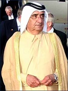 The late Sheikh Maktoum.