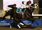Tribal Belle landed her third consecutive stakes victory in the Bessarabian at Woodbine.