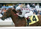 Funny Cide Easy Allowance Winner in 2004 Debut