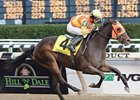 "Springside takes the Demoiselle Stakes under Garrett Gomez.<br><a target=""blank"" href=""http://www.bloodhorse.com/horse-racing/photo-store?ref=http%3A%2F%2Fpictopia.com%2Fperl%2Fgal%3Fprovider_id%3D368%26ptp_photo_id%3D6898325%26ref%3Dstory"">Order This Photo</a>"