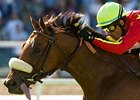 "Mrs Kipling will carry 118 pounds in Oak Tree's Harold C. Ramser Sr. Handicap.<br><a target=""blank"" href=""http://www.bloodhorse.com/horse-racing/photo-store?ref=http%3A%2F%2Fpictopia.com%2Fperl%2Fgal%3Fprovider_id%3D368%26ptp_photo_id%3D8065361%26ref%3Dstory"">Order This Photo</a>"