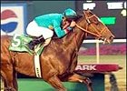 Brother Derek, winning the Hollywood Futurity, seeks San Rafael.