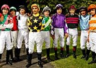 Participants in the 2008 International Jockeys' Challenge