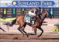 Song of Navarone Whistles Home in WinStar Derby