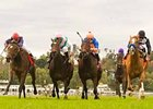"Belmont Cat, far right, wins a four-horse photo in the Santa Ana. <br><a target=""blank"" href=""http://www.bloodhorse.com/horse-racing/photo-store?ref=http%3A%2F%2Fgallery.pictopia.com%2Fbloodhorse%2Fgallery%2F69713%2Fphoto%2F7932204%2F%3Fo%3D0"">Order This Photo</a>"