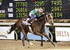 Undefeated By the Light won her fourth straight race in the Delta Princess.