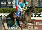 "Mushka scores an impressive victory in the grade II Demoiselle Stakes on Nov. 24.<br><a target=""blank"" href=""http://www.bloodhorse.com/horse-racing/photo-store?ref=http%3A%2F%2Fpictopia.com%2Fperl%2Fgal%3Fprovider_id%3D368%26ptp_photo_id%3D2859642%26ref%3Dstory"">Order This Photo</a>"