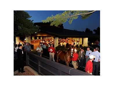 The night life at Keeneland was a success.