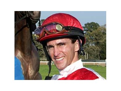 Ramon Dominguez will ride Monba in the Kentucky Derby (gr. I).