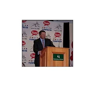 "Yum! Brands CEO and chairman David Novak, announcing Kentucky Derby ""Yumfecta."""