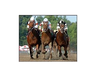 I Promise (right) will try the Adirondack after coming up a nose short in the Schuylerville.