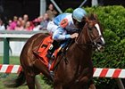 Agave Kiss cannot be caught in the Miss Preakness.