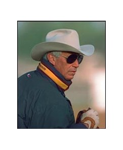 Hall of Fame trainer D. Wayne Lukas, moving horses out of California.