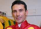 Jockey Mario Pino will be Honorary Postmaster for Preakness 133 Station.
