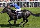 Kingsgate Native flies to victory in the Coolmore Nunthorpe Stakes.