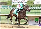 Be Gentle provided D. Wayne Lukas with a record fifth Debutante victory.